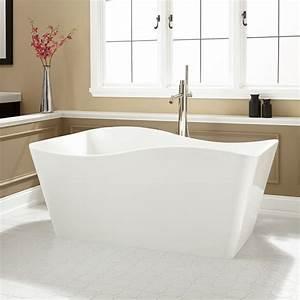 Delmare Acrylic Freestanding Tub Bathroom