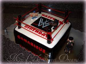 quot my cake sweet dreams quot wwe wrestling cake