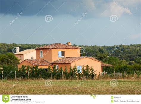 typical french provence house stock image image