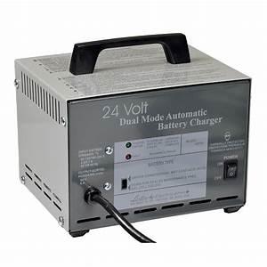 24 Volt 8 0 Amp Dual Mode Xlr Battery Charger  Lester