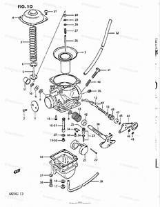Suzuki Motorcycle 1988 Oem Parts Diagram For Carburetor