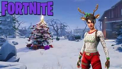 Fortnite Raider Nosed Wallpapers Christmas Skin Thumbnail