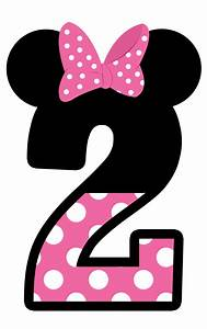 Minnie Mouse 2nd Birthday Clipart - ClipartXtras