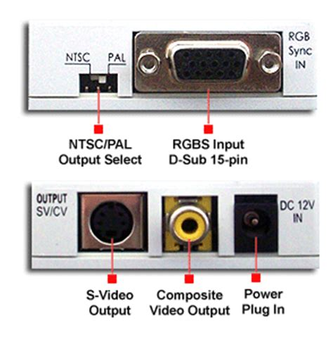 Rgb Ntsc Pal Converter With Composite Video Out Ebay