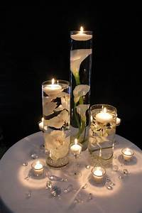candle centerpiece ideas DIY Floating Candle Centerpiece Ideas | www.FabArtDIY.com