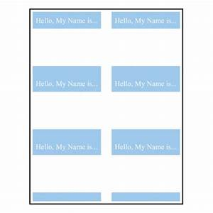 Name tag template clipart best for Name badges templates microsoft word