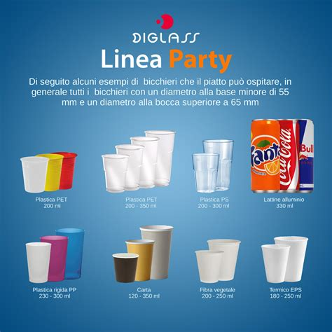 Bicchieri E Piatti Di Plastica by Diglass Piatti Con Portabicchiere Vendita Piatti Di Plastica