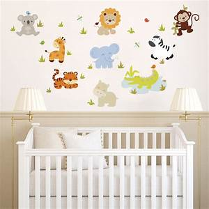 Nursery wall stickers for baby boy peenmedia