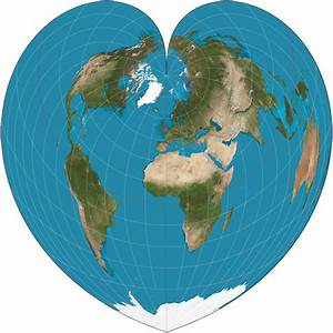 Shouting Into The Void  Fun With Map Projections
