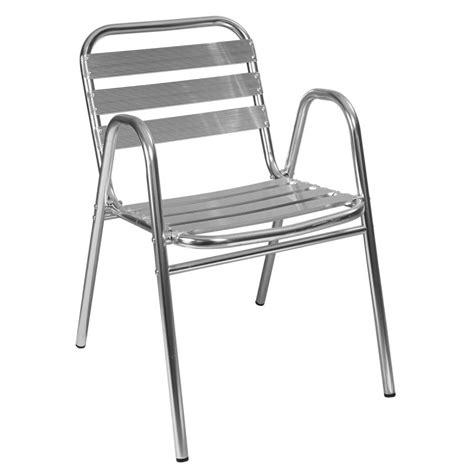 chaise terrasse aluminium mobilier restaurant mobeventpro
