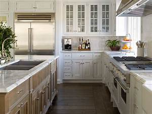 wire brushed oak island transitional kitchen phoebe With kitchen colors with white cabinets with large sun face wall art