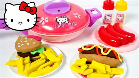 Hello Classic Kitchen Play Set by Hello Kitchen Playset ハローキティ キッチンセット Hello Pan