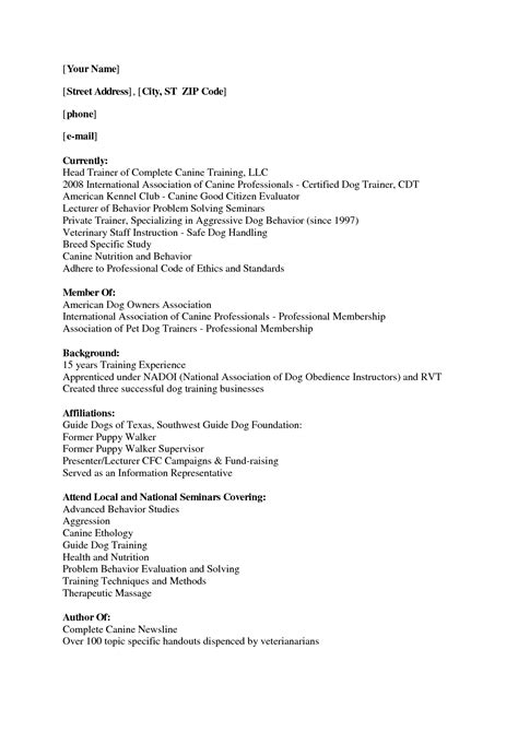 Walker Resume Objective by Walker Resume Sle Resumes Design