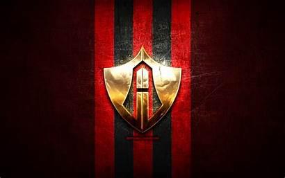 Atlas Fc Soccer Football Liga Golden Metal