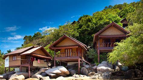 Thailand Beach Huts.the Bamboo Hut Pool Villa At The Koh