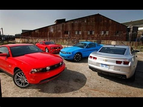 Car And Driver Mustang Vs Camaro by 2011 Ford Mustang Vs 2010 Chevrolet Camaro Car And