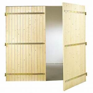 Porte De Garage Bois : porte de garage bois battante ext rieur ~ Melissatoandfro.com Idées de Décoration