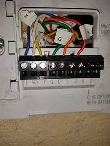 Honeywell Thermostat Wiring Diagram Rth2300b