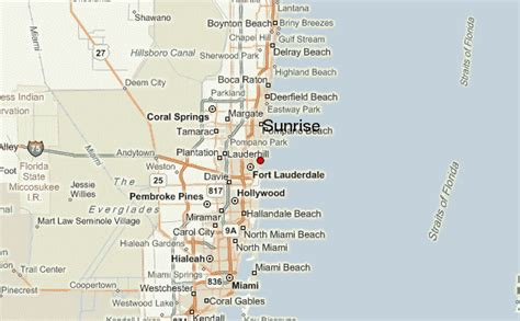 Sunrise Florida Map.Sunrise Florida Map United States Poisk Po Kartinkam Red