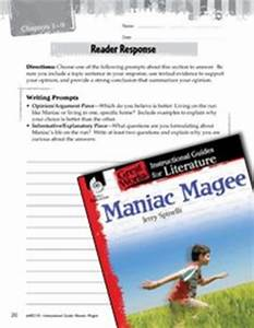 George Washington Essay Paper Maniac Magee Essay Prompts  Literature Review Writing Help also Essay Examples High School Maniac Magee Essay Good Thesis Paper Maniac Magee Essay Examples  English Essay Book