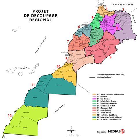 Carte Villes Maroc Pdf by La Nouvelle R 233 Gionalisation Au Maroc