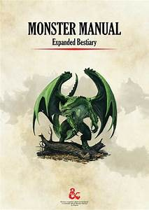 Monster Manual  Expanded Bestiary