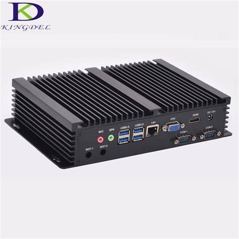 pc bureau intel i5 windows 10 cheap fanless mini industrial pc 16g ram 256g