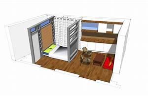 petit appart39 a paris ce n39est pas la taille qui compte With creer un plan de maison 6 amenagement de combles avec creation dune mezzanine