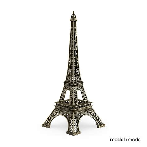 Mini Eiffel Tower 3d Model Cgtradercom