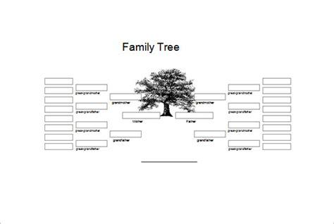 genogram templates  family word powerpoint
