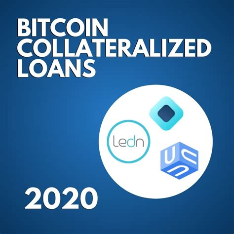 Last updated on march 21, 2020. 3 Best Bitcoin Loan Programs (2020 Updated)
