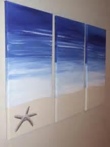 Beach Paintings On Canvas