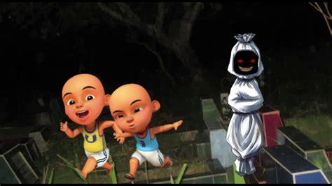 Kartun Lucu : Upin Ipin VS Pocong Vs Ultraman Ribut YouTube