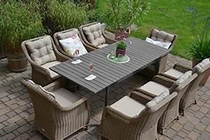 Gartenmöbel Set 8 Personen : gartenm bel set 8 personen my blog ~ Michelbontemps.com Haus und Dekorationen