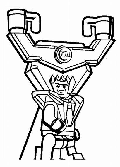 Lego Coloring Pages Adventure Lord Colouring Business