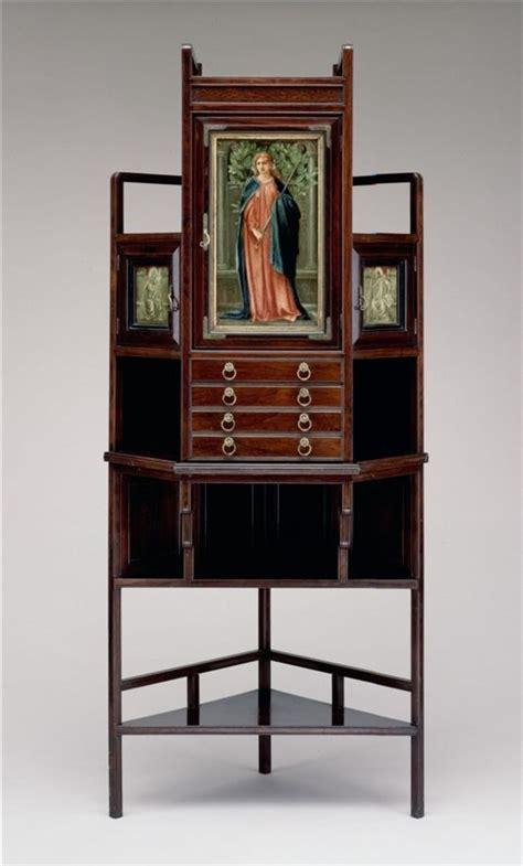 godwin 39 s furniture and corner cabinet edward william godwin and charles fairfax