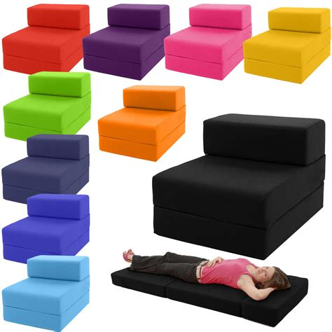 sofa ausklappbar single chair bed z guest fold out futon sofa chairbed lounger matress foam gilda futon sofa