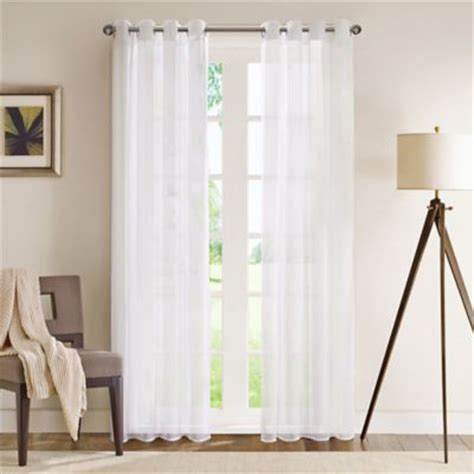 buy sheer grommet curtains from bed bath beyond