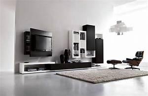 Deco Meuble Design : idee meuble tv design deco maison moderne ~ Teatrodelosmanantiales.com Idées de Décoration