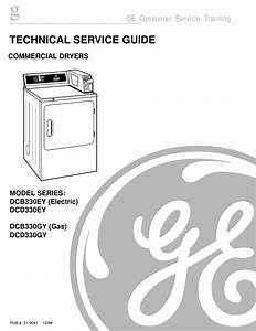 Ge Dcb330ey Technical Service Manual Pdf Download