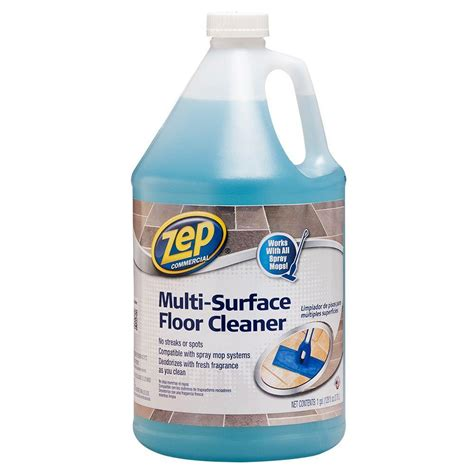 home depot zep floor wax fila deterdek 1 gal hard surface floor cleaner 44040104ame the home depot