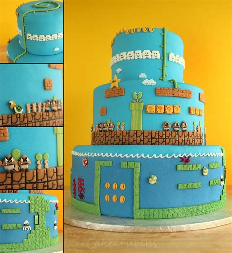 This Super Mario Bros Wedding Cake Is Incredible Pic