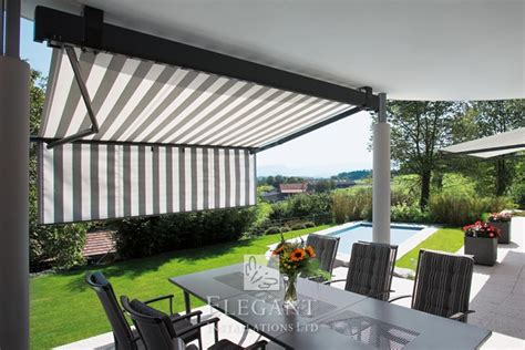 patio awnings  drop  valance awning front screens