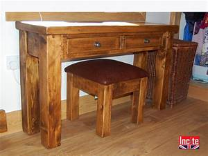 Plank Wash Stand Dressing Tables Derbyshire Handcrafted