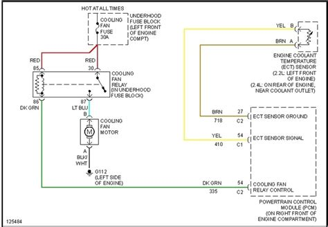 2011 Chevy Silverado Cooling Fan Wiring Diagram by 2005 Chevy Tailgate Parts Diagram2005 Dodge Neon Parts
