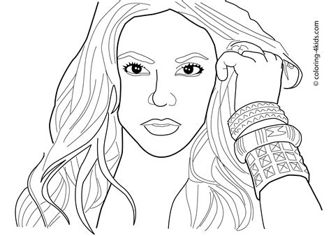 coloring pages  famous women coloring home