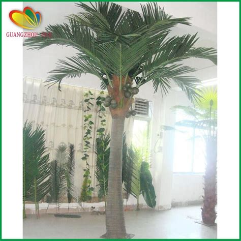 factory price fake tree outdoor artificial coconut palm