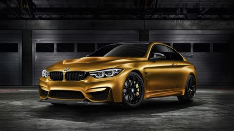2018 Bmw M4 Gts Sunburstgold 4k Wallpaper
