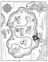 Treasure Pirate Map Drawing Coloring Maps Tim Printable Printables Timvandevall Van Simple Drawings Vall Getdrawings Paintingvalley Innen Mentve sketch template