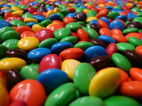 Forever M&Ms  M&Ms as far as the eye can see How often